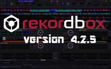 Rekordbox version 4.2.5