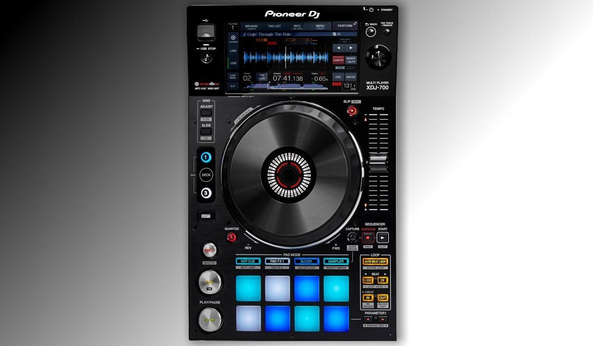 Pioneer DJ standalone midi deck