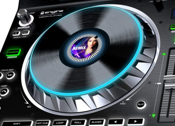 Denon DJ SC5000 jogwheel