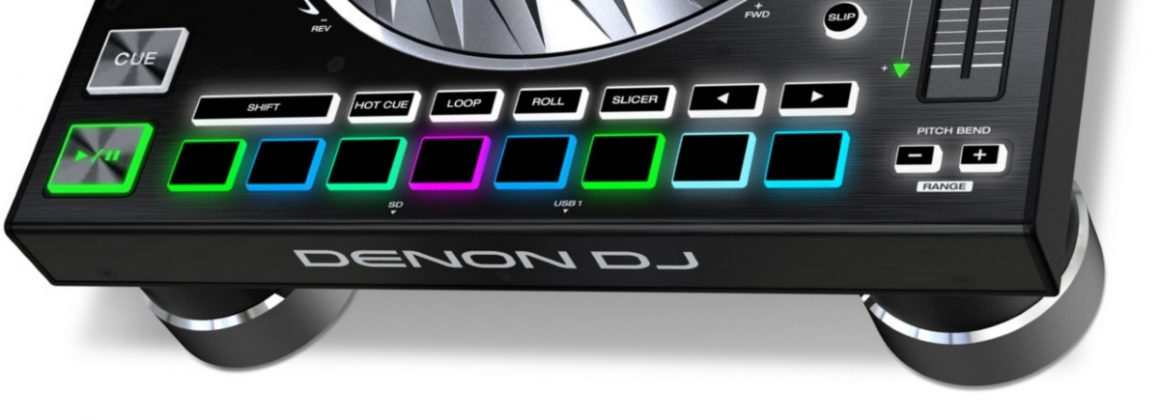 Denon DJ SC5000 performance pads