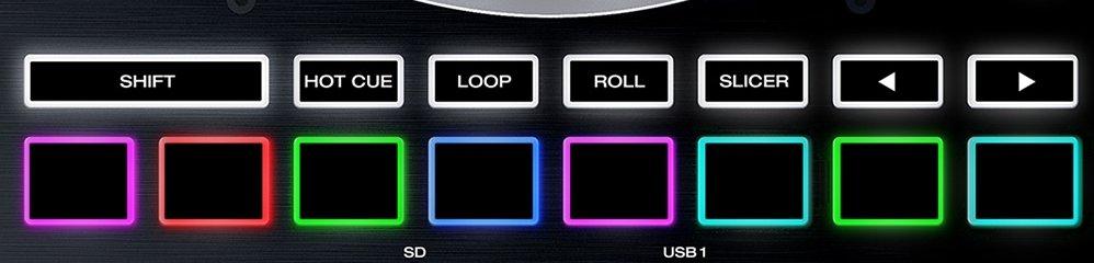 Denon DJ performance pads