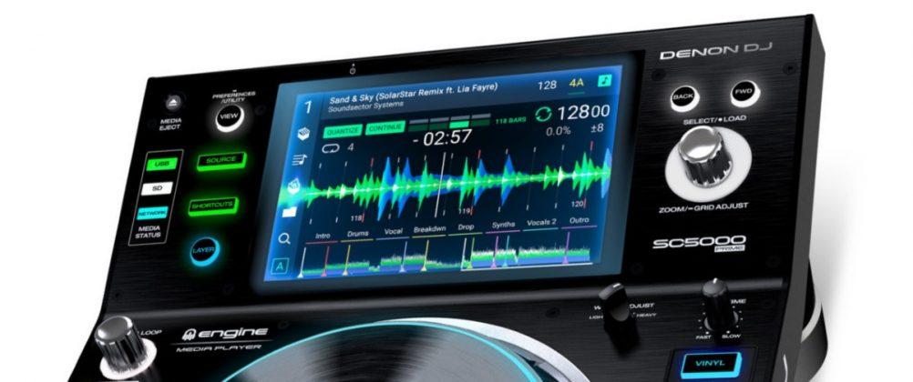 Denon DJ SC5000 screen