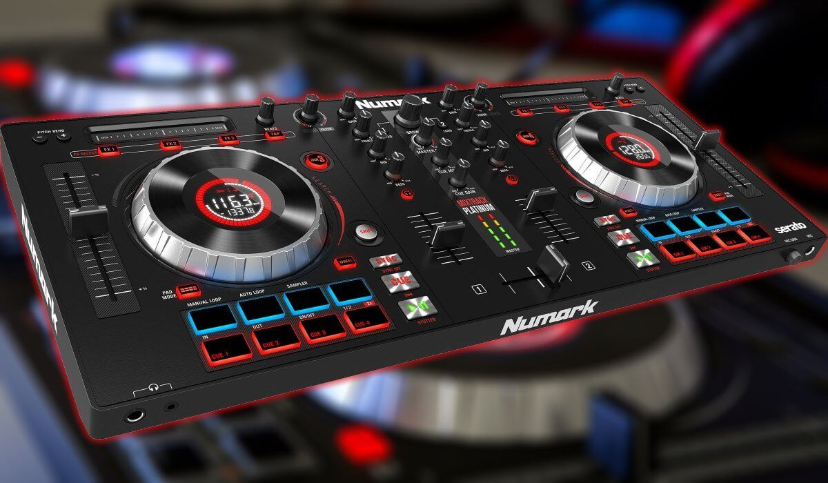 Numark Mixtrack Platinum Serato DJ Controller Review And