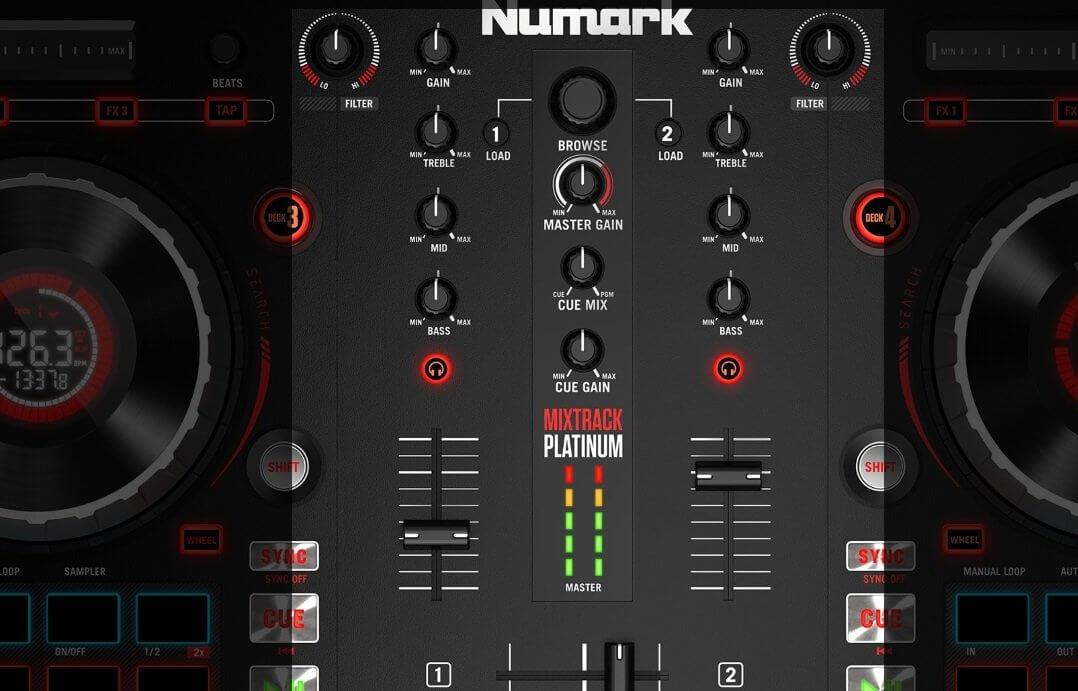 Numark Mixtrack Platinum Mixer