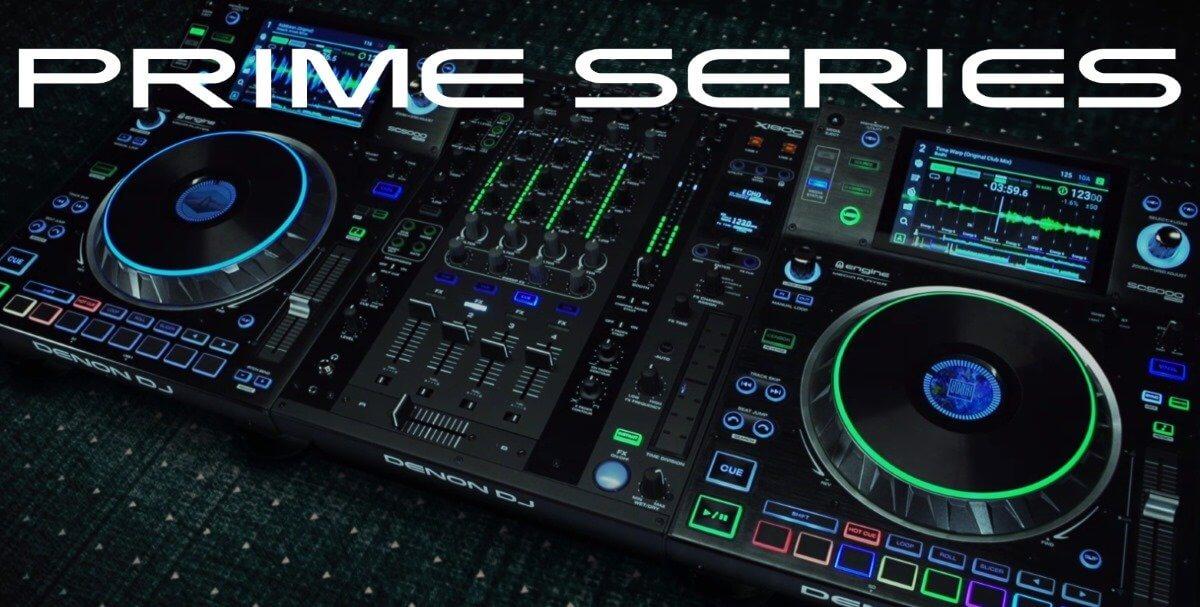 Denon DJ Prime system