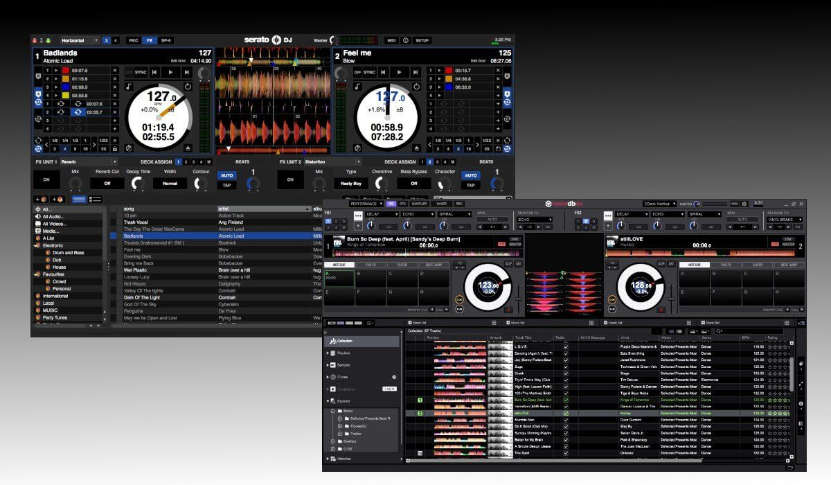 virtual dj vs traktor vs serato
