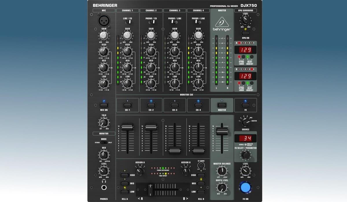Behringer DJX750