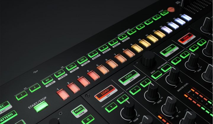 Roland DJ-808 step sequencer