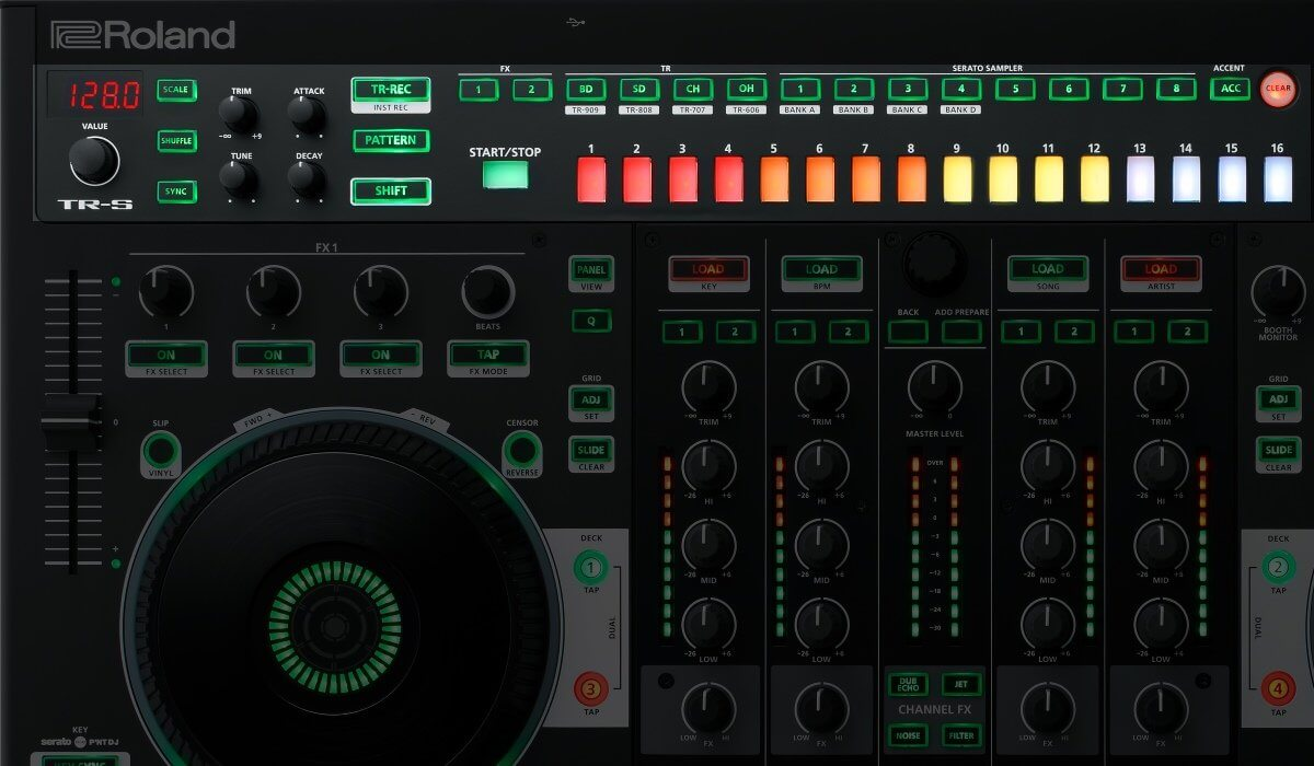 Roland DJ-808 Sequencer