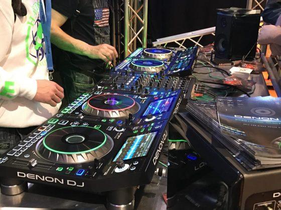 Denon DJ Prime Series setup