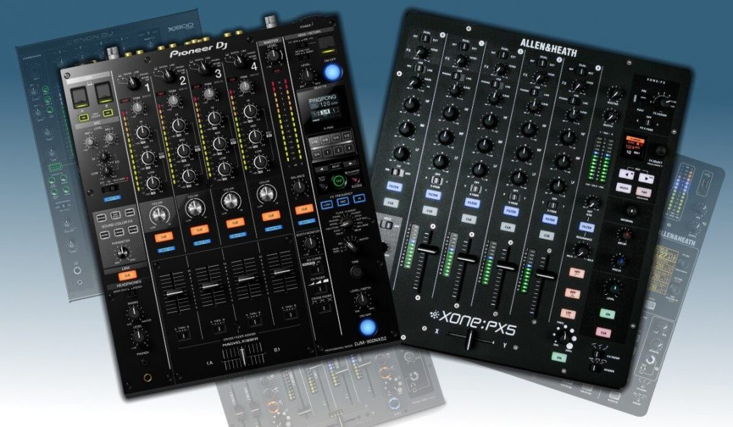 Best 4 channel professional mixer