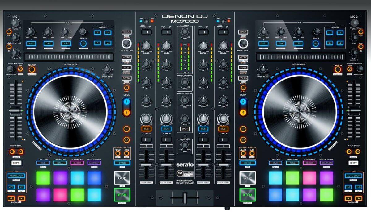 Denon DJ MC7000 top view