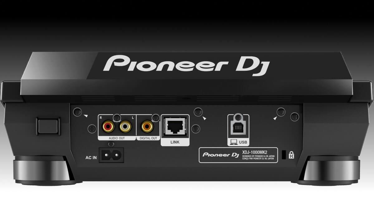 Pioneer DJ XDJ-1000mk2 connections