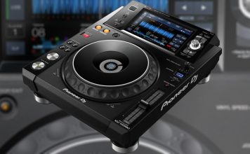 Pioneer XDJ-1000MK2 media player