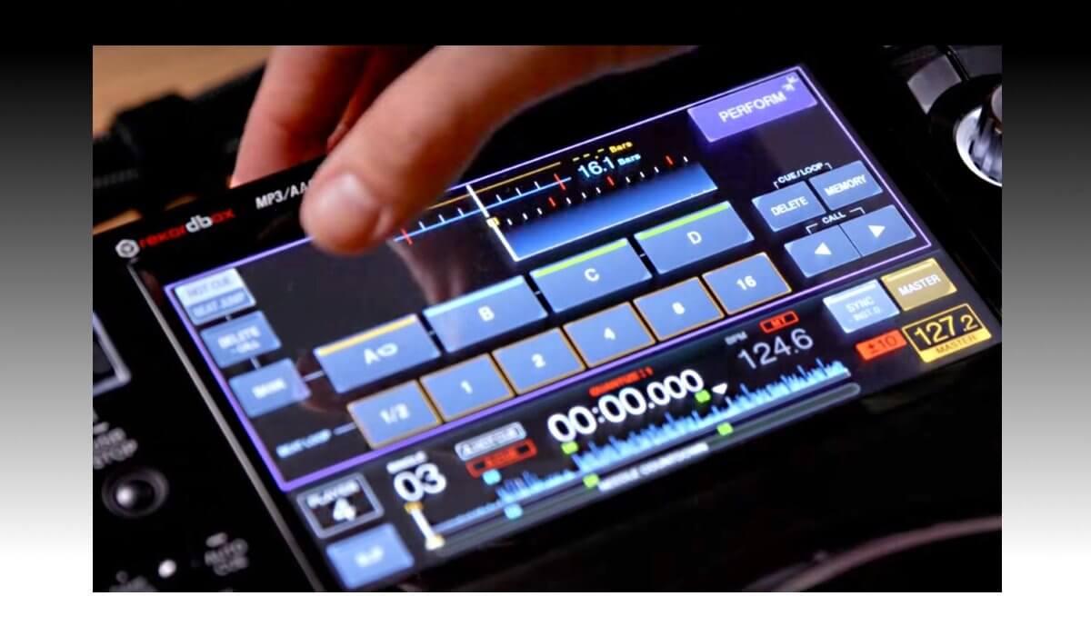 Pioneer DJ XDJ-1000mk2 performance mode