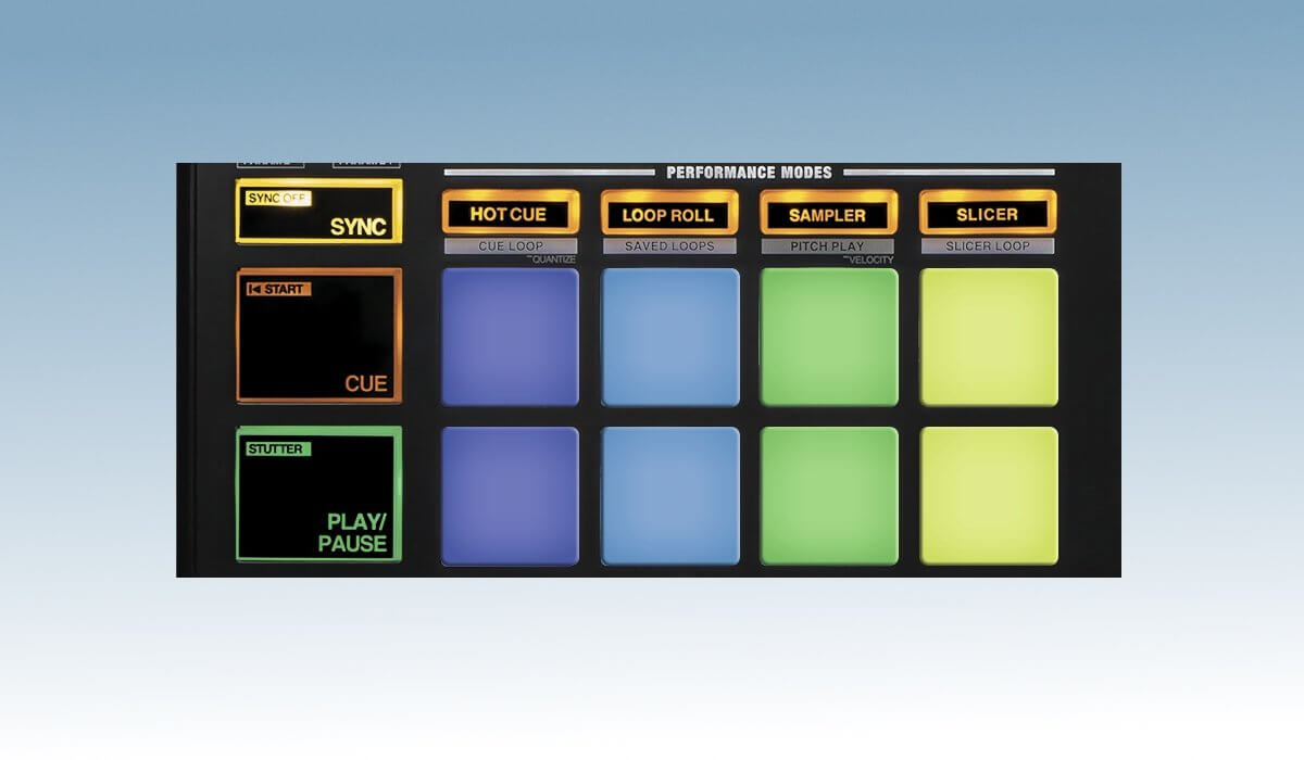 Reloop Mixon 4 transport section