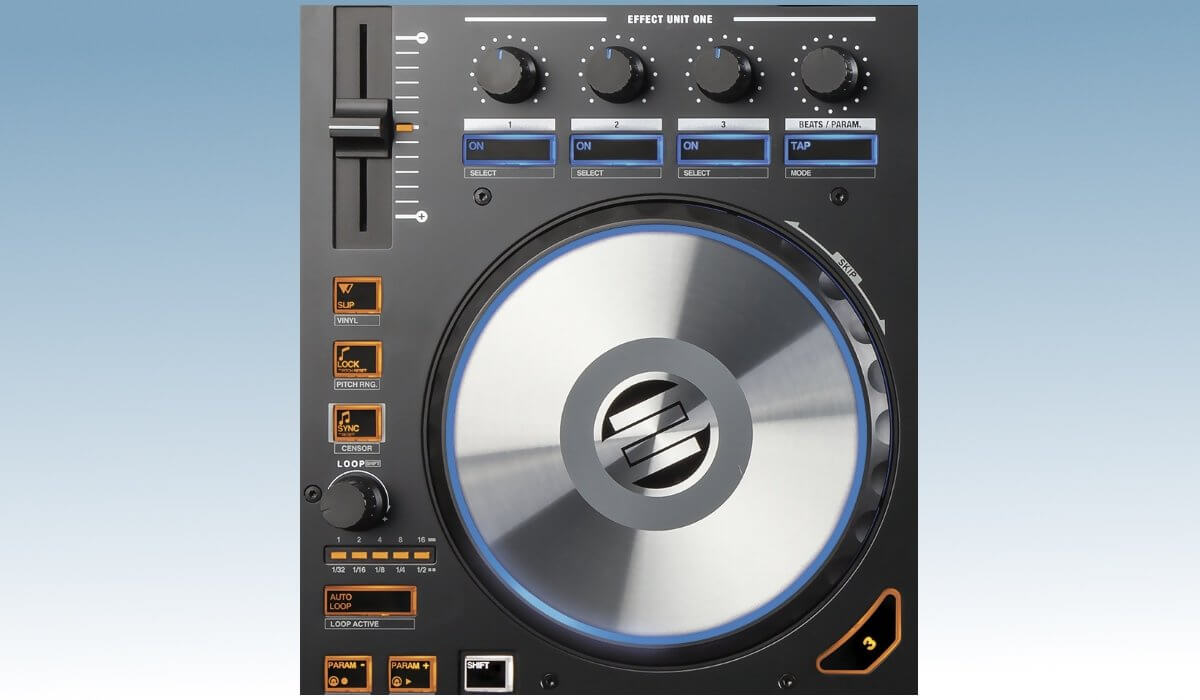 Reloop Mixon 4 deck features