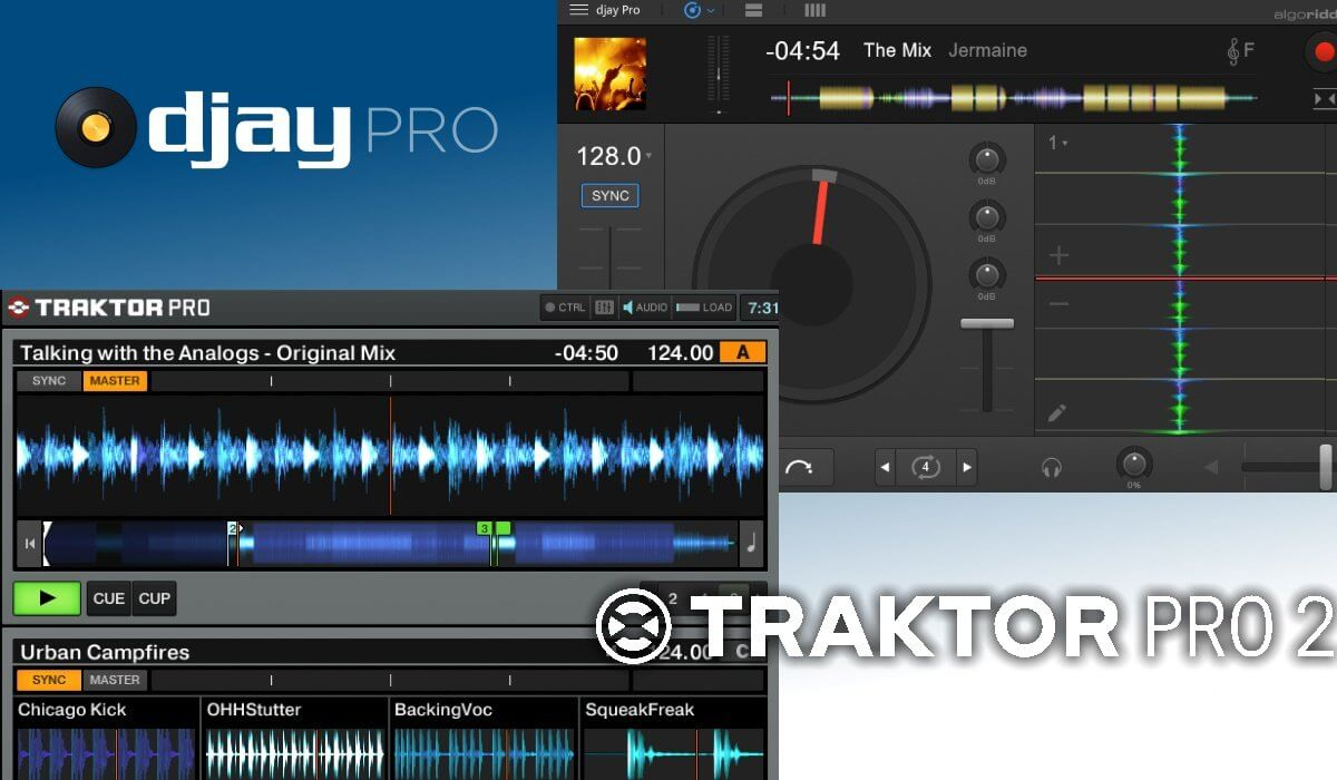 Which DJ Software Package Is The Best: djay Pro Or Traktor Pro?
