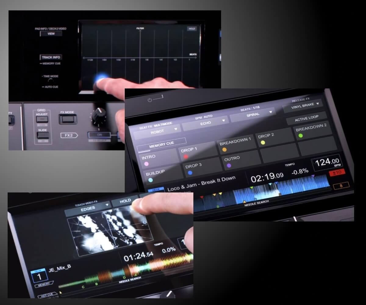 DDJ-RZX screen detail