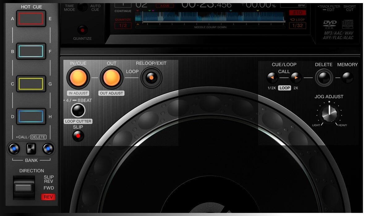 CDJ-2000NXS2 performance features