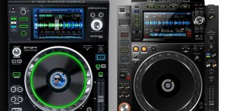 The Denon DJ SC5000 Prime compared to the Pioneer DJ CDJ-2000NXS2