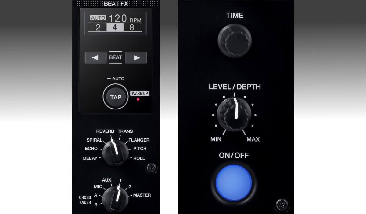 Pioneer DJ DJM-450 beat fx