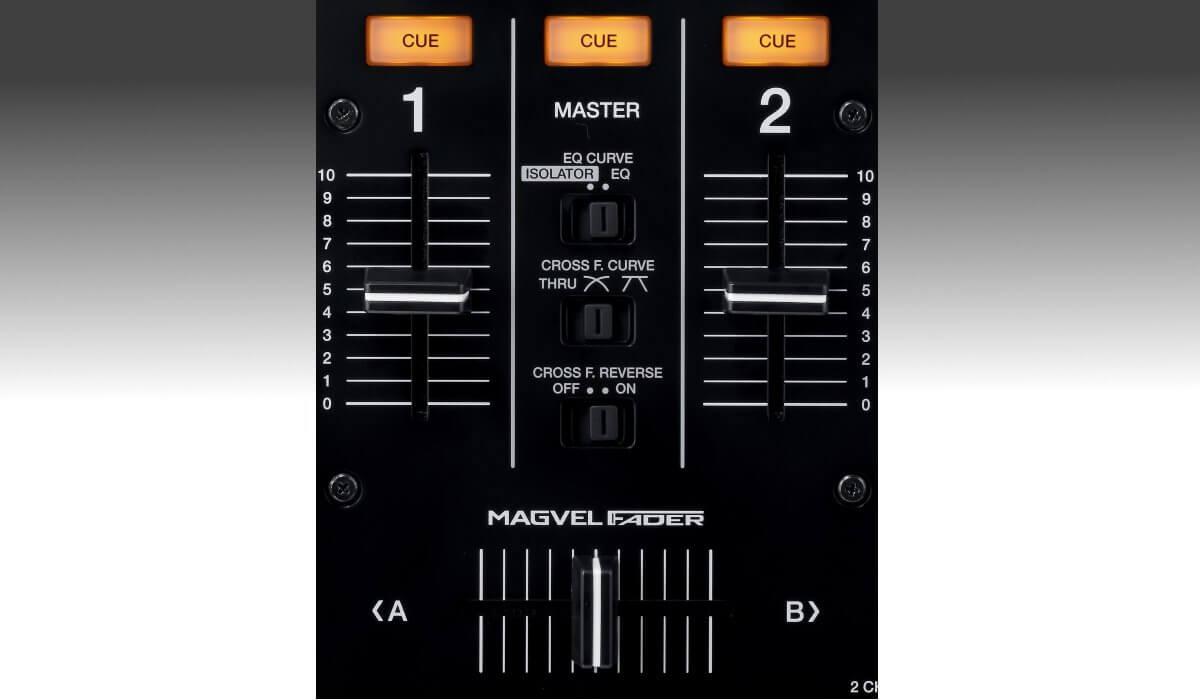 Pioneer DJ DJM-450 faders