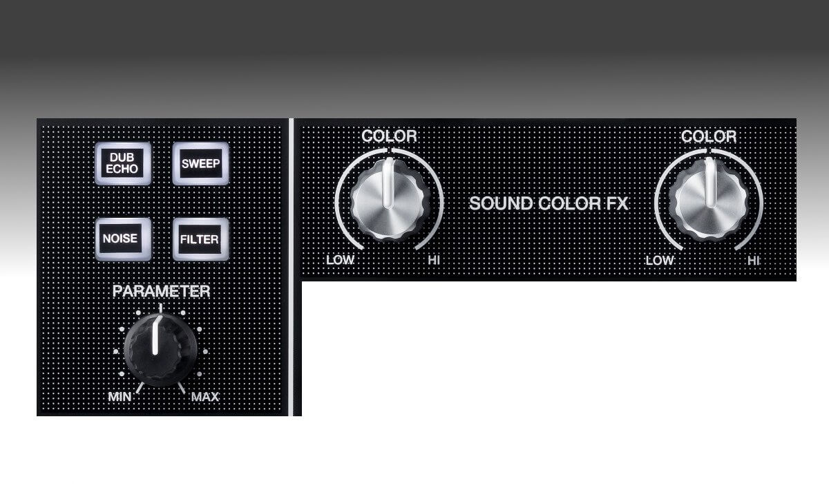 Pioneer DJ DJM-450 sound color FX