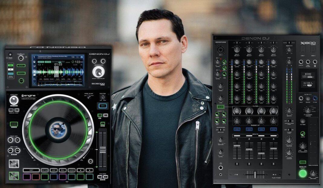 Tiësto changes his rider to Denon DJ Prime Series