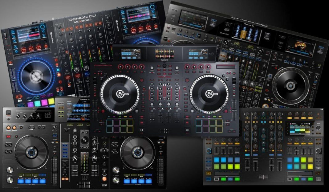 Best professional DJ controller with built-in screens