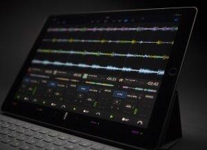 djay Pro on iPad Pro 12 inches.