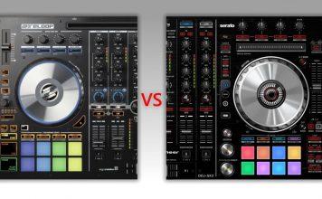 Pioneer DJ DDJ-SX2 versus Reloop Mixon 4