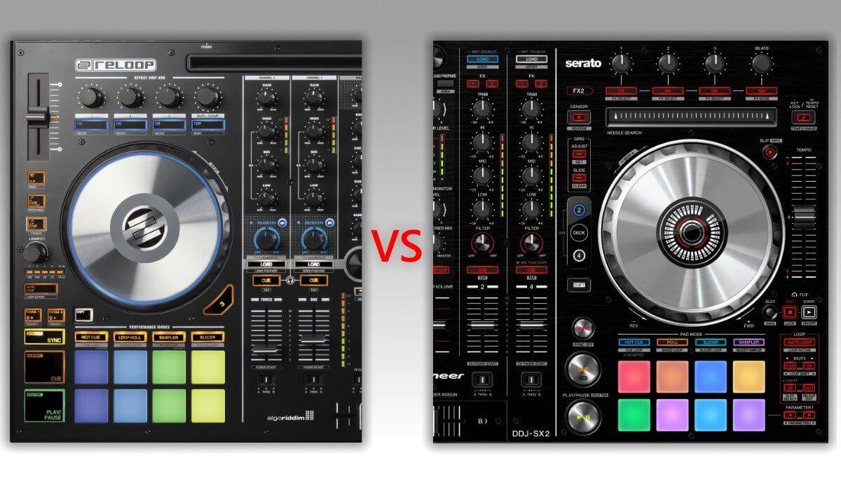 Best 4 Channel Serato DJ Controller: Reloop Mixon 4 Versus