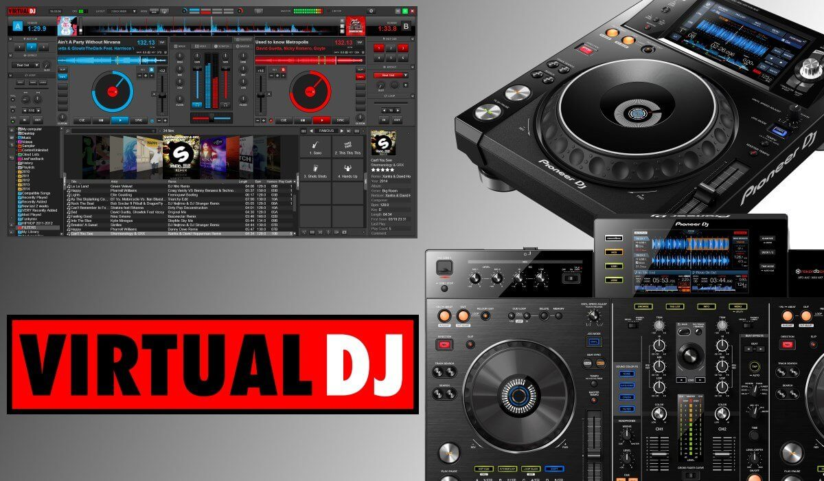 Virtual DJ 8 Now Supports Pioneer DJ XDJ-1000MK2 And XDJ-RX