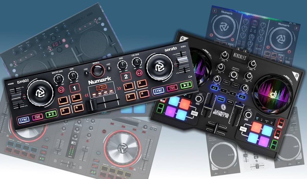 what is the best really cheap dj controller in 2018. Black Bedroom Furniture Sets. Home Design Ideas