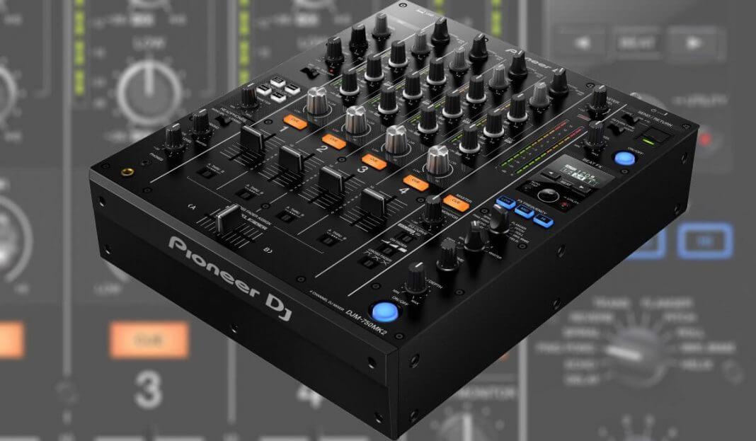 Pioneer dj presenta la djm 750mk2 mesa de mezclas de club - Mesa dj pioneer ...