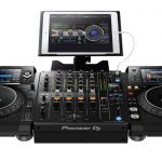 Pioneer DJ DJM-750MK2 using RMX-1000 iPad app.