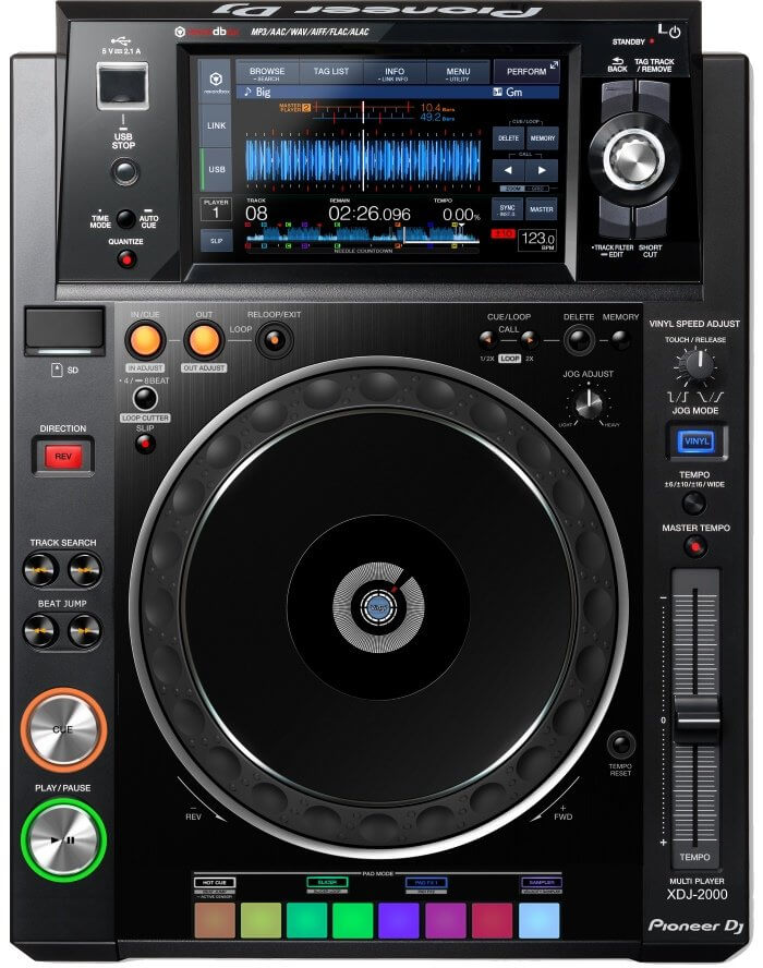 Pioneer XDJ-2000, or at least my version of it!