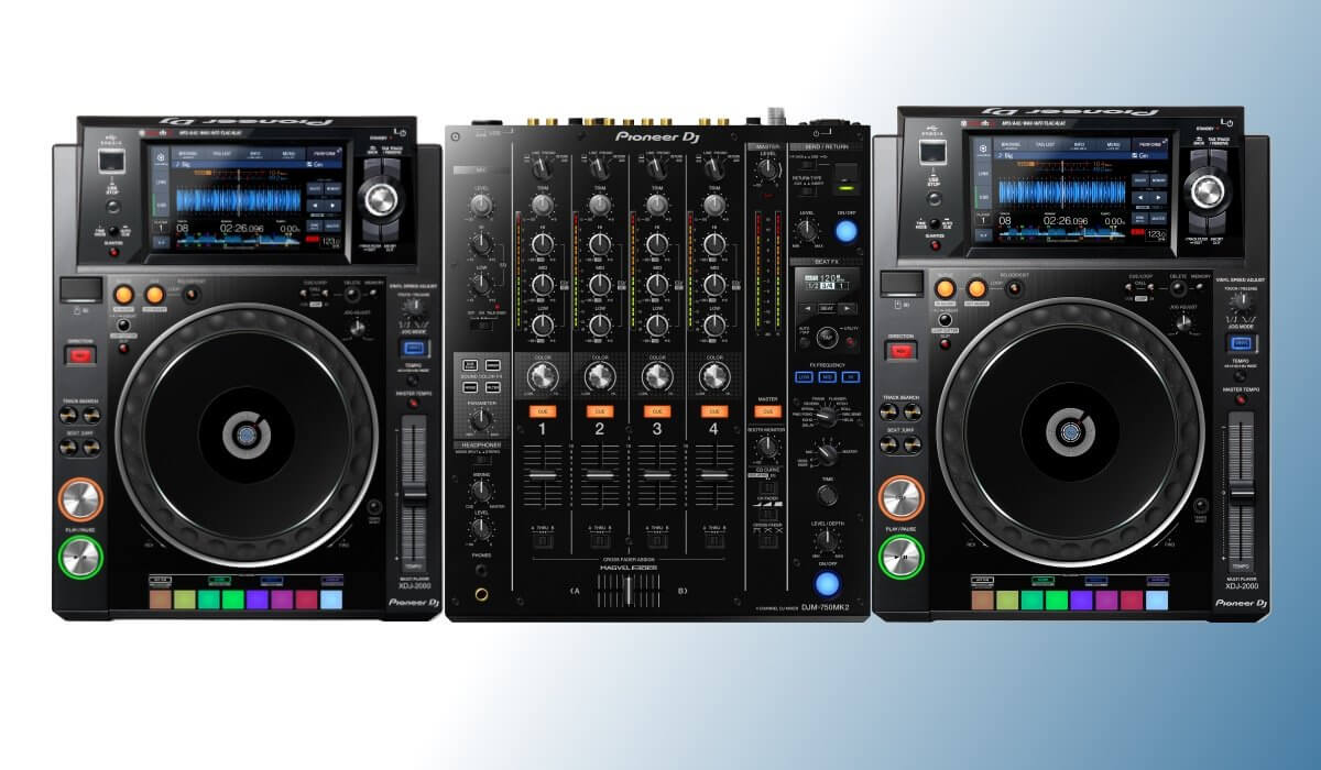Pioneer DJ XDJ-2000 with DJM-750MK2, the perfect match!