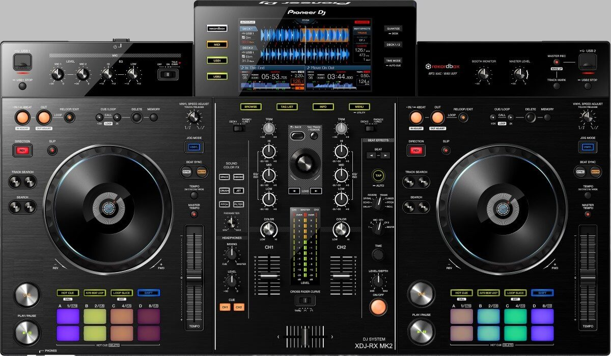 Pioneer DJ XDJ-RX MK2 rendition
