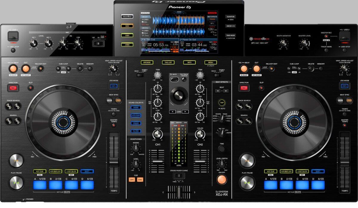 Pioneer DJ XDJ-RX, the current model.