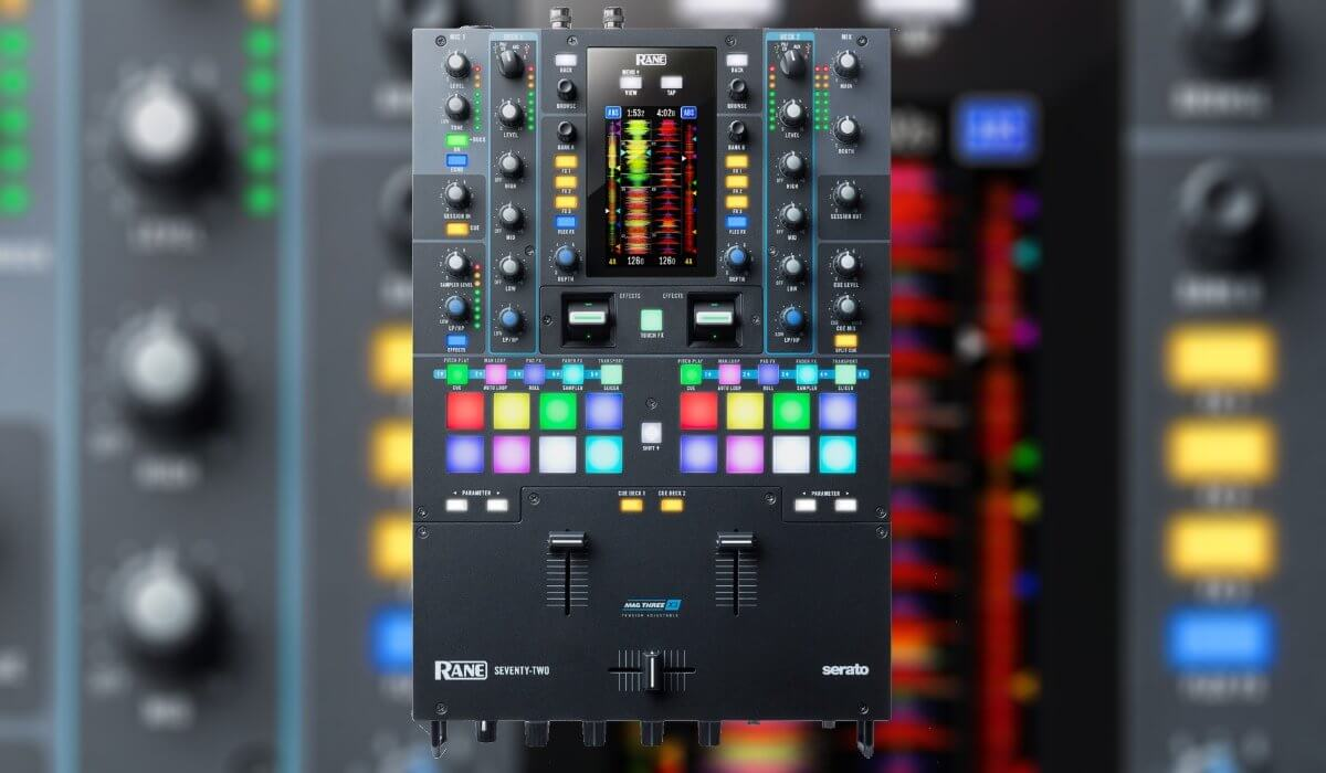 Rane Unleashes Their Seventy Two Mixer, Goes After Pioneer DJ DJM-S9