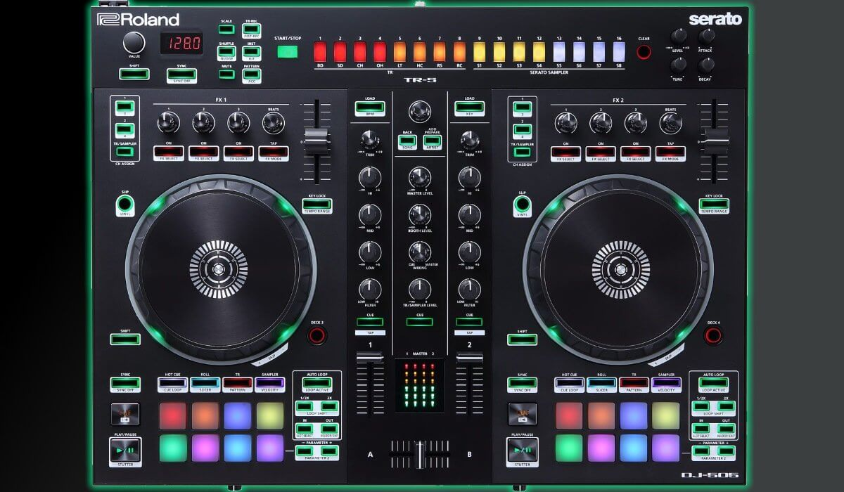 Roland Launches DJ-505 Serato DJ Controller With Built-In