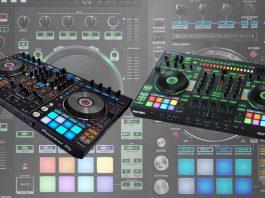 Roland DJ-808 versus Pioneer DJ DDJ-RX