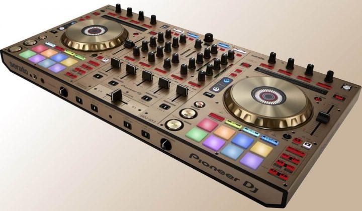 Pioneer DJ DDJ-SX2 gold version