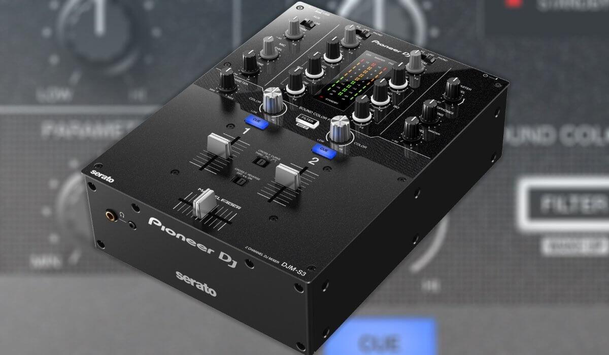 Pioneer DJ Launches DJM-S3 Serato DJ 2 Channel Mixer