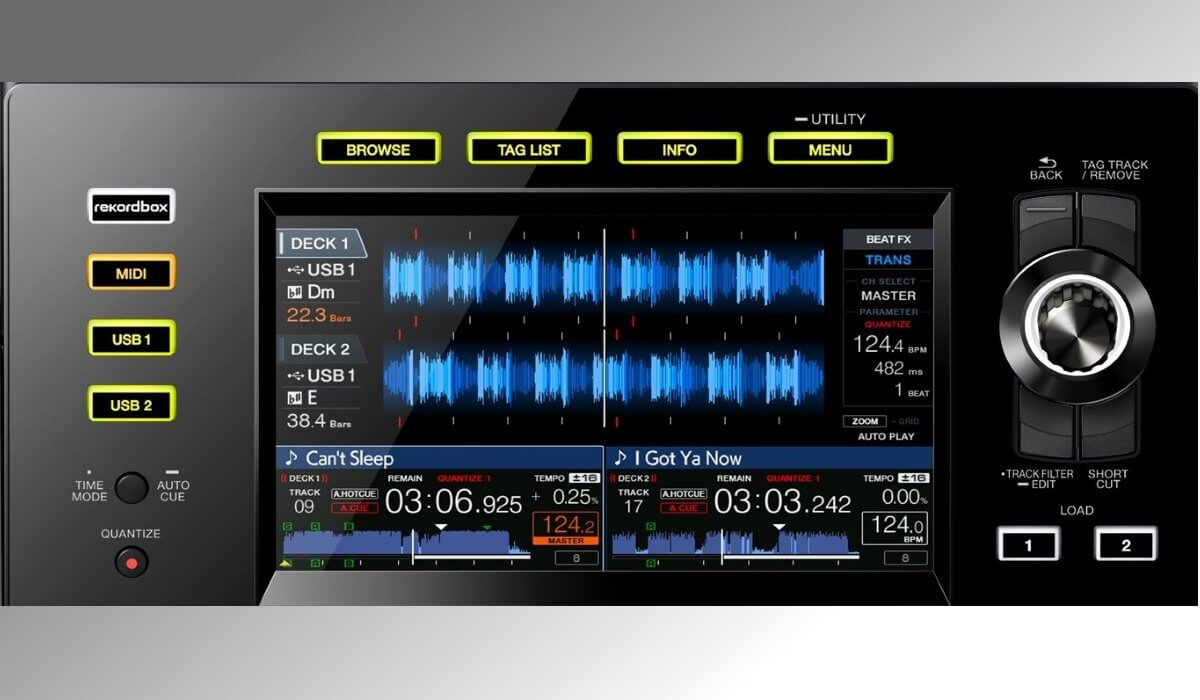 Pioneer Dj Launches The Xdj Rx2 All In One Dj System