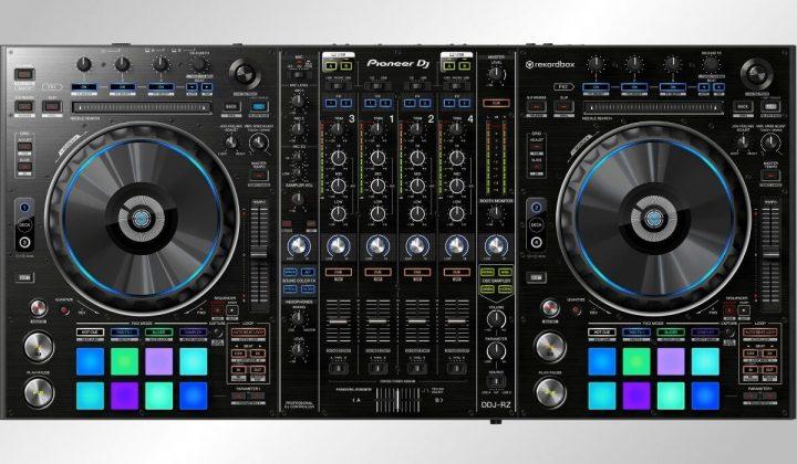 Pioneer DJ DDJ-RZ top view