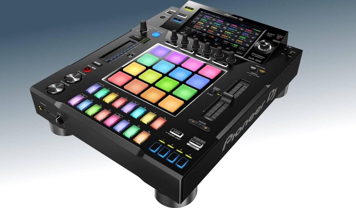 Pioneer DJ DJS-1000 side view