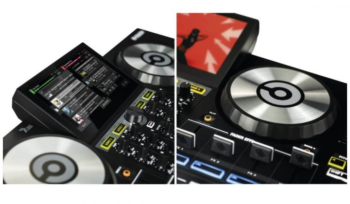 Reloop TOUCH screen details